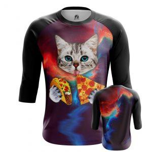 Merchandise Men'S Raglan Taco Cat Cats Fun
