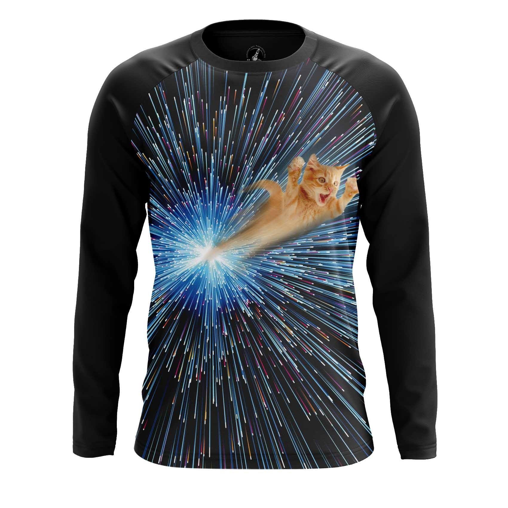 Merchandise Men'S Tank Through Cathole Black Hole Space Fun Cats Vest