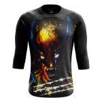 Merchandise - Men'S Raglan Splash Wolverine Xmen Logan