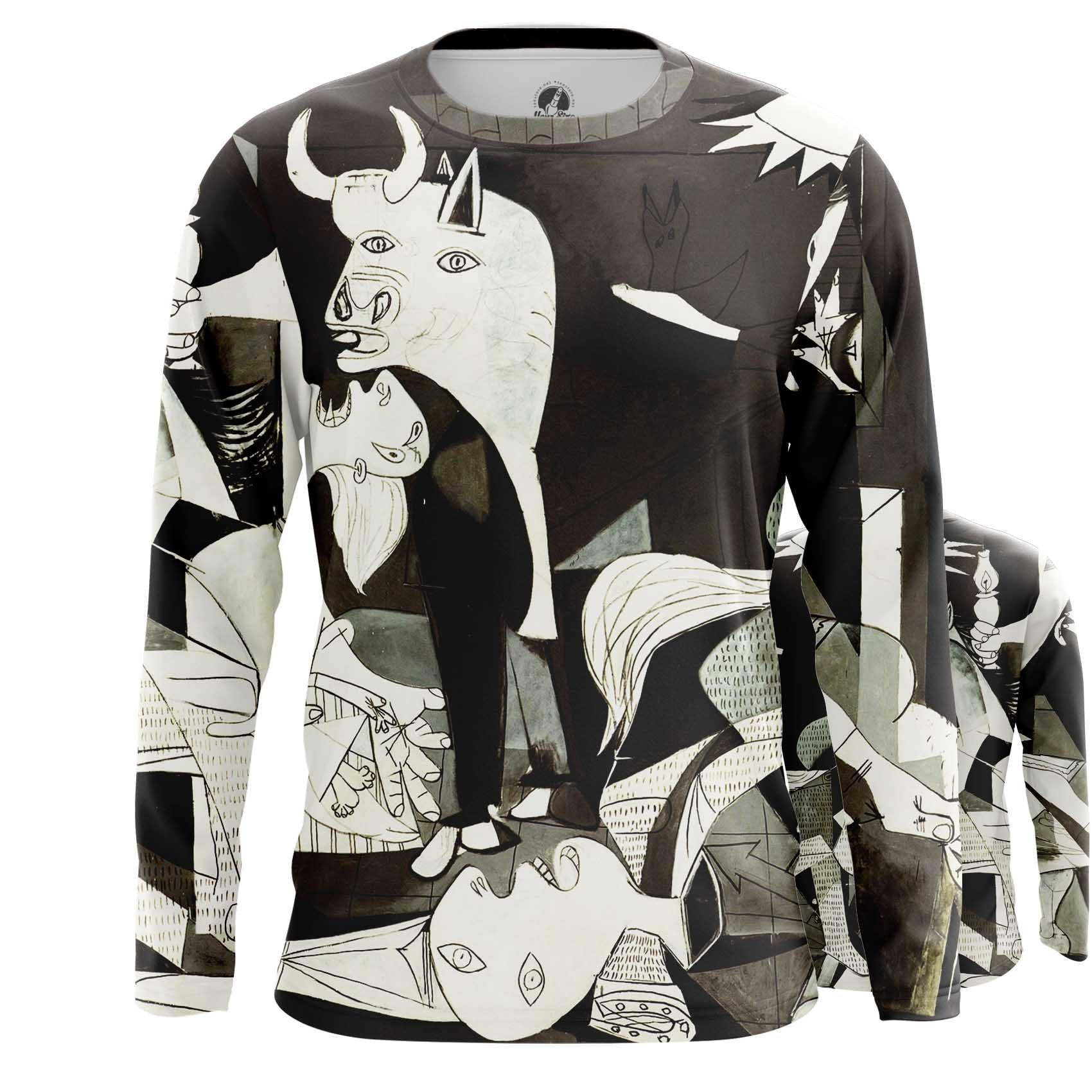 Merch T-Shirt Guernica Pablo Picasso Fine Art Artwork