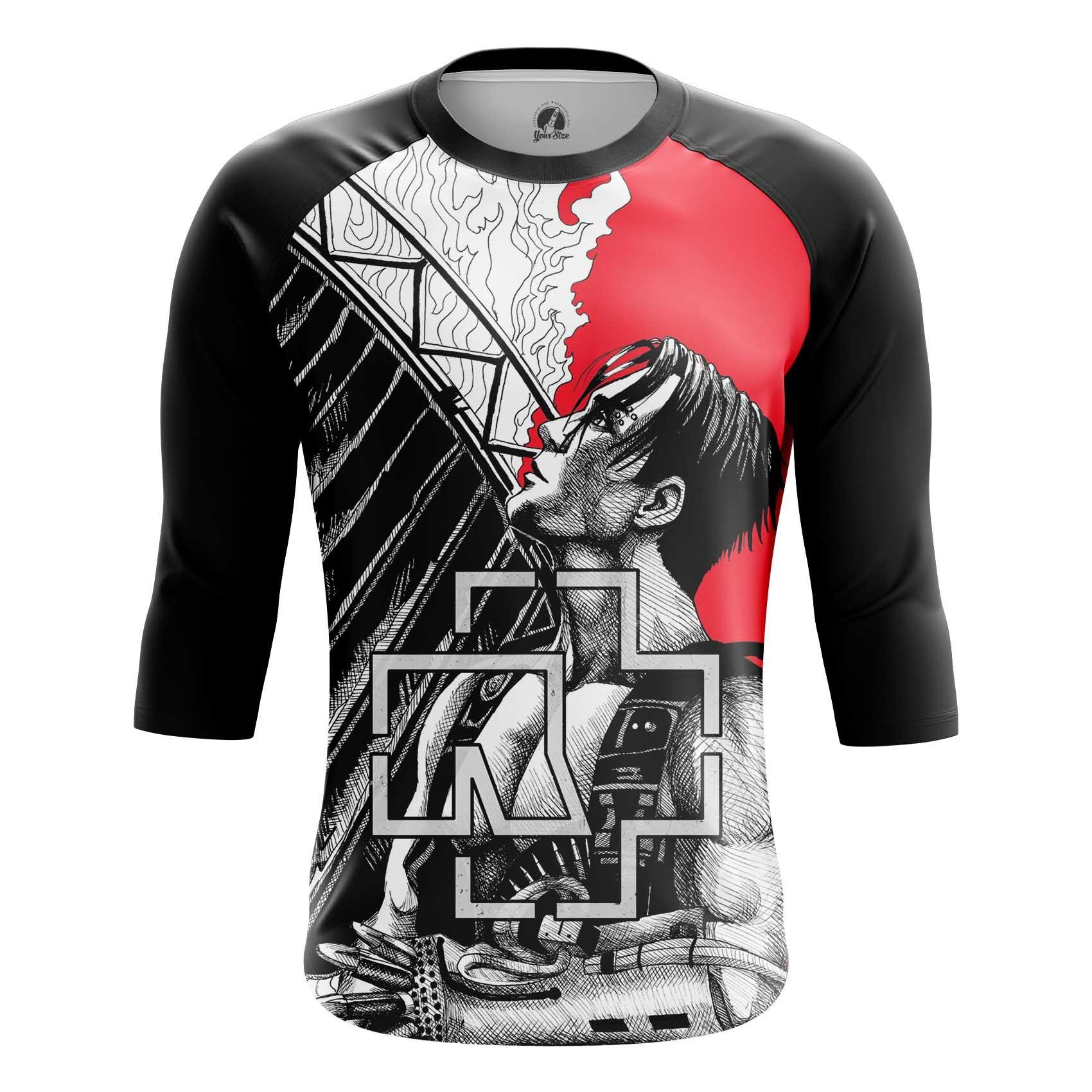Merch Men'S T-Shirt Rammstein Band Till