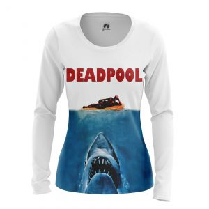 Collectibles Women'S Long Sleeve Jaws Pool Deadpool