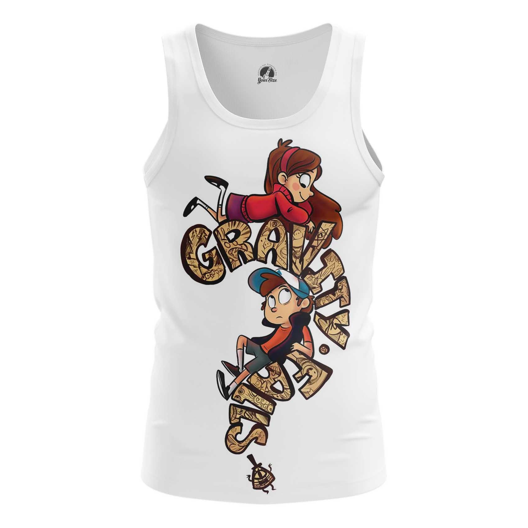 Merchandise Gravity Falls Men'S T-Shirt White
