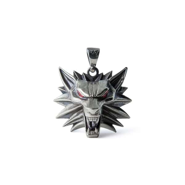 Collectibles The Witcher Necklace Wolf Handmade 3D