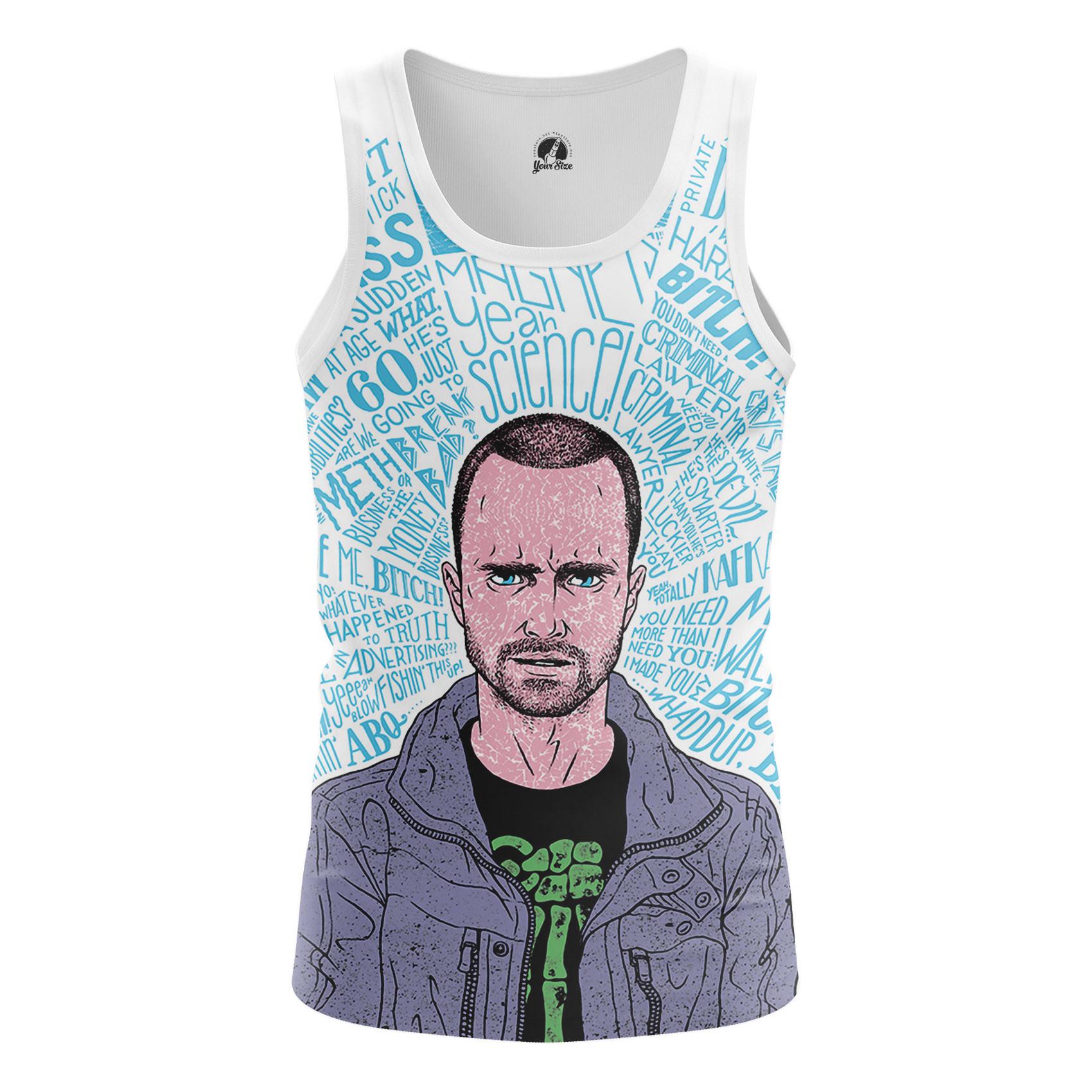Merchandise Men'S Tank Beatch Breaking Bad Pinkman Vest