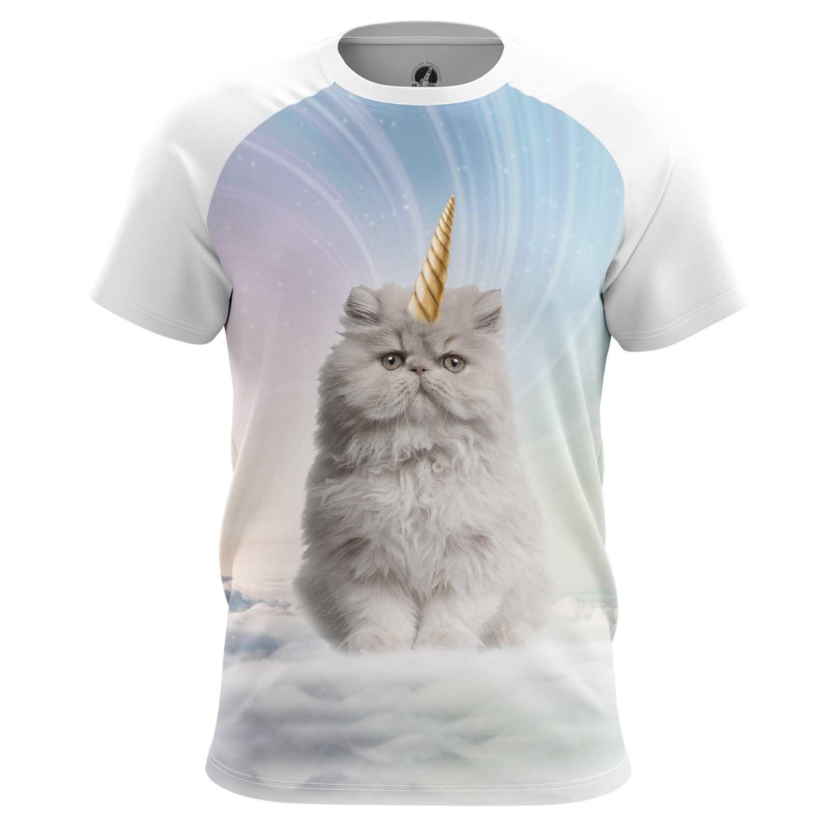 Merch Men'S Tank Unicat Unicorn Cats Fun Vest