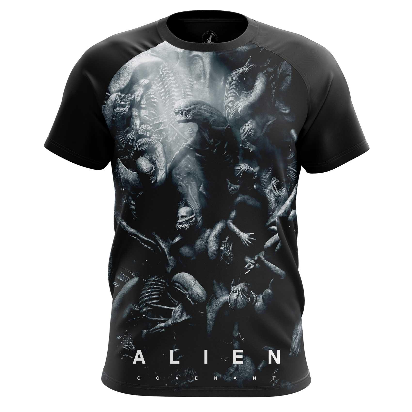 Merchandise Men'S T-Shirt Covenant Aliens Movie