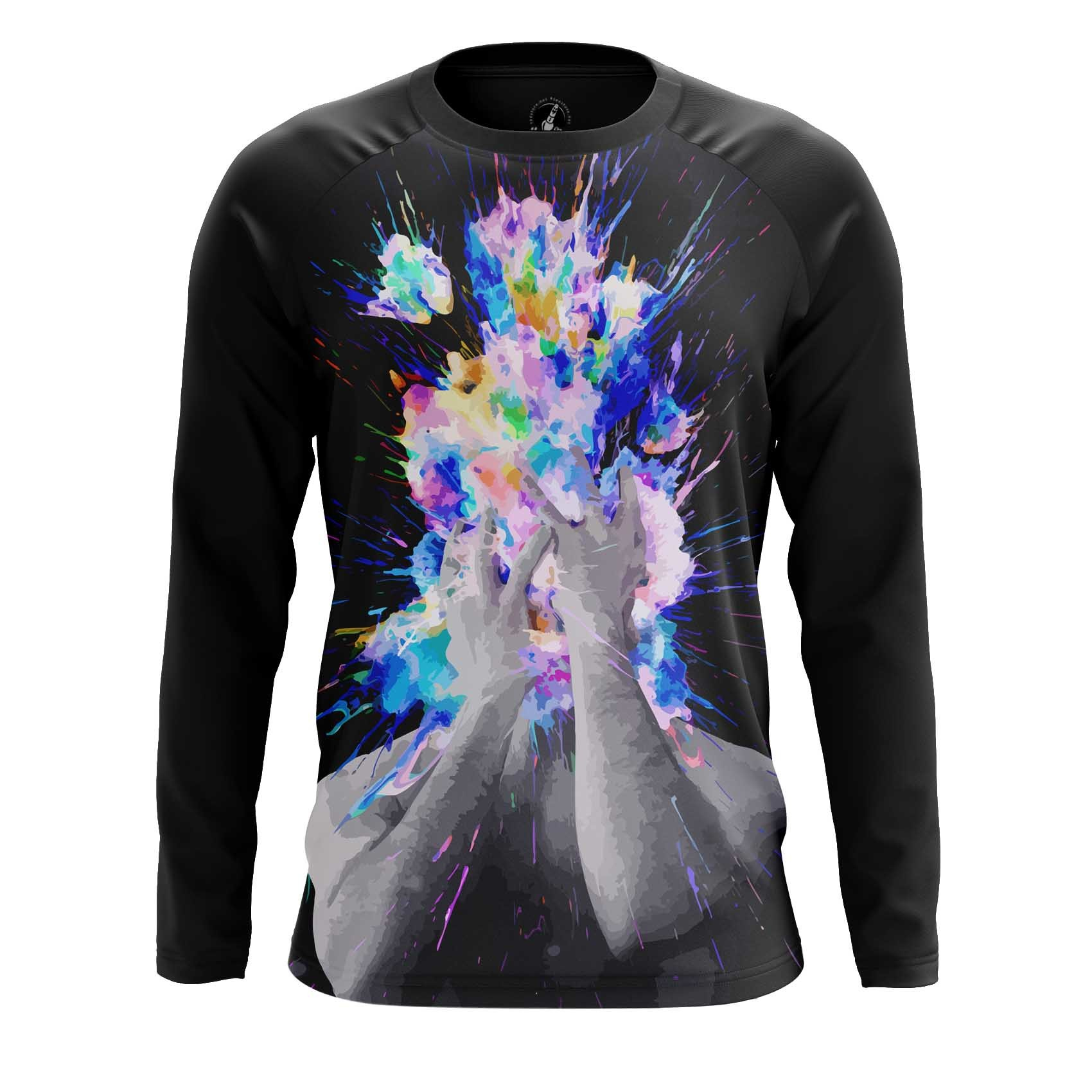 Collectibles Men'S Long Sleeve Head Blow Space Universe