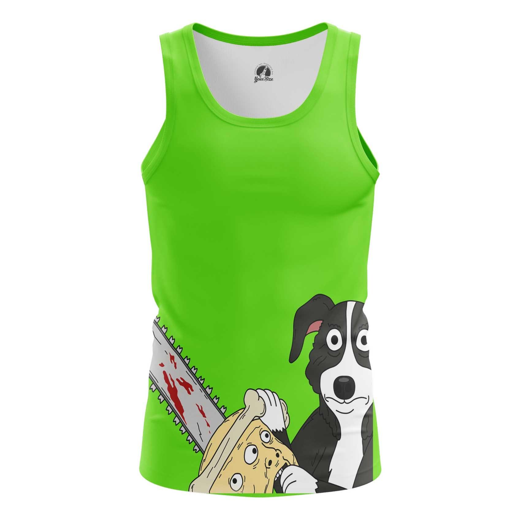 Merch Green T-Shirt Mr Pickles Cartoon Shirts Dog