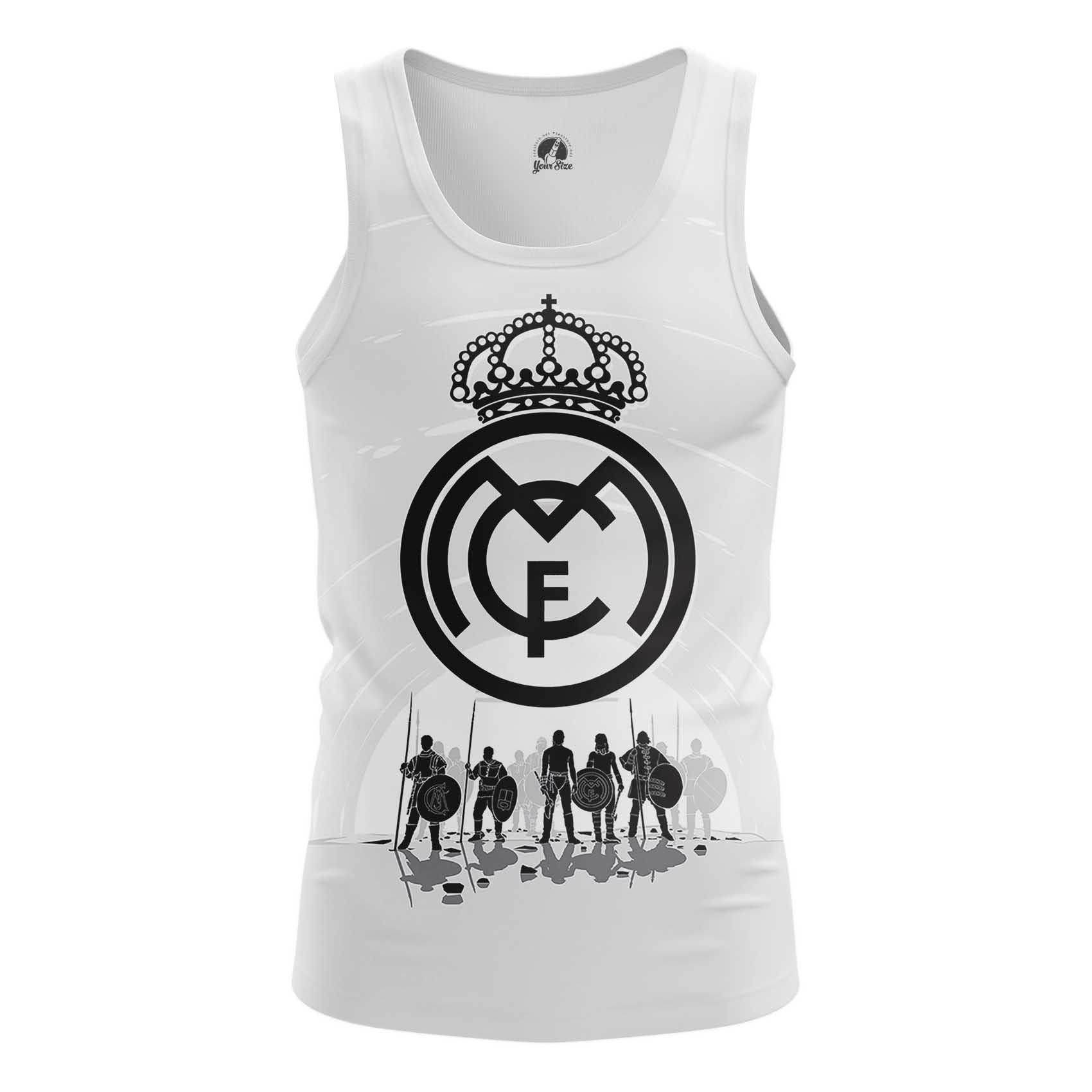 Merch Men'S T-Shirt Fc Real Madrid Football Clothing Fan Art
