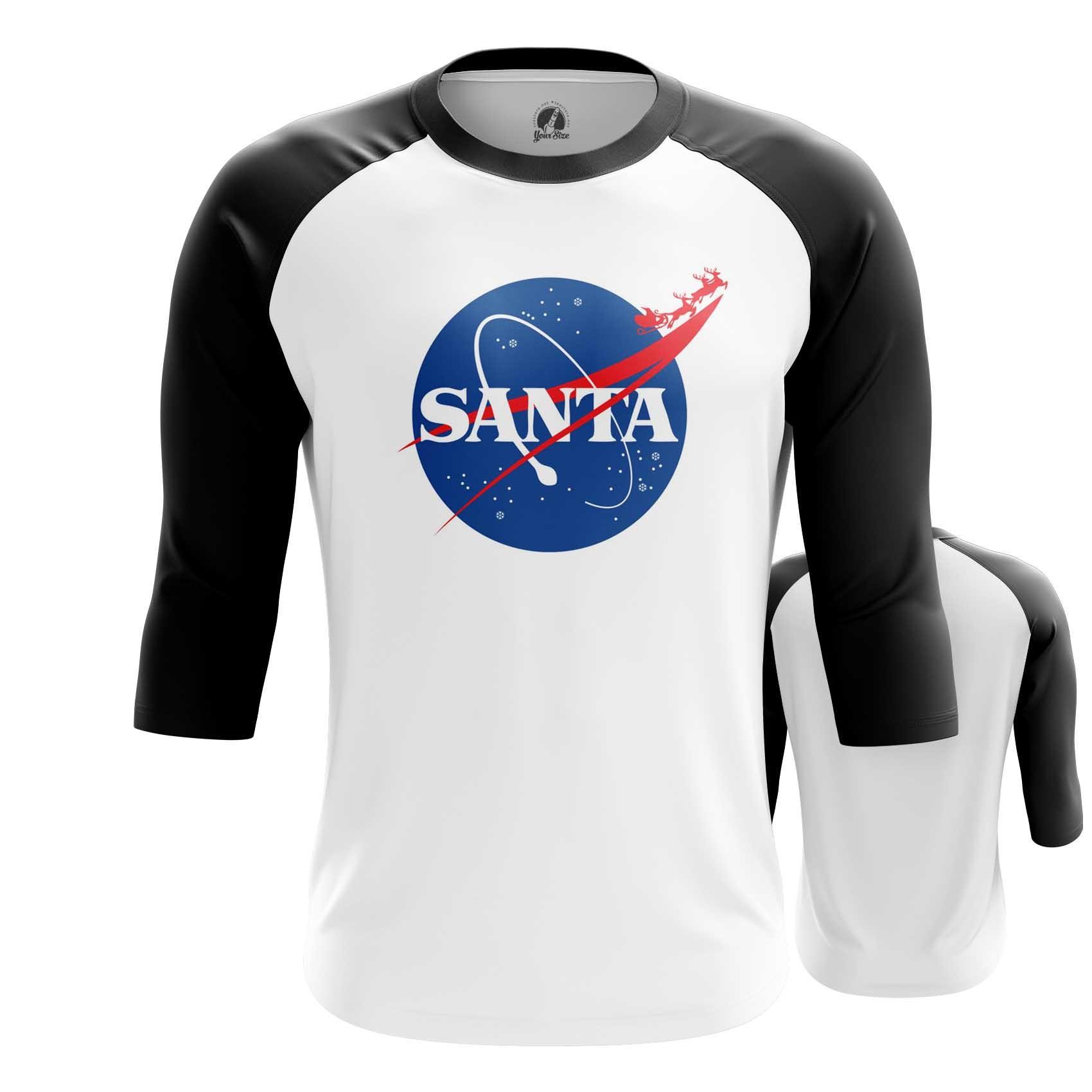 Merchandise Space Santa Claus T-Shirt Nasa Christmas