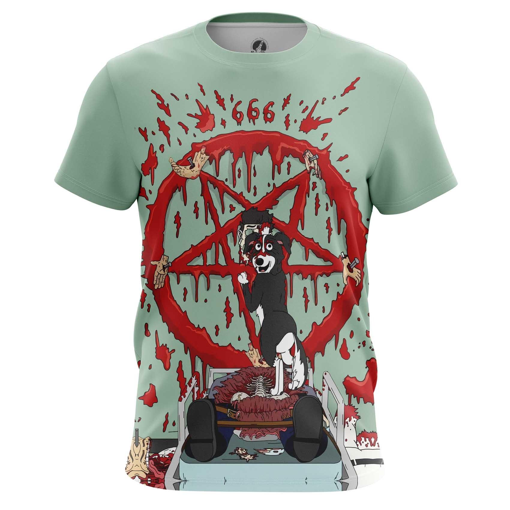 Merchandise T-Shirt Mr Pickles Worship Satan Sacrifice