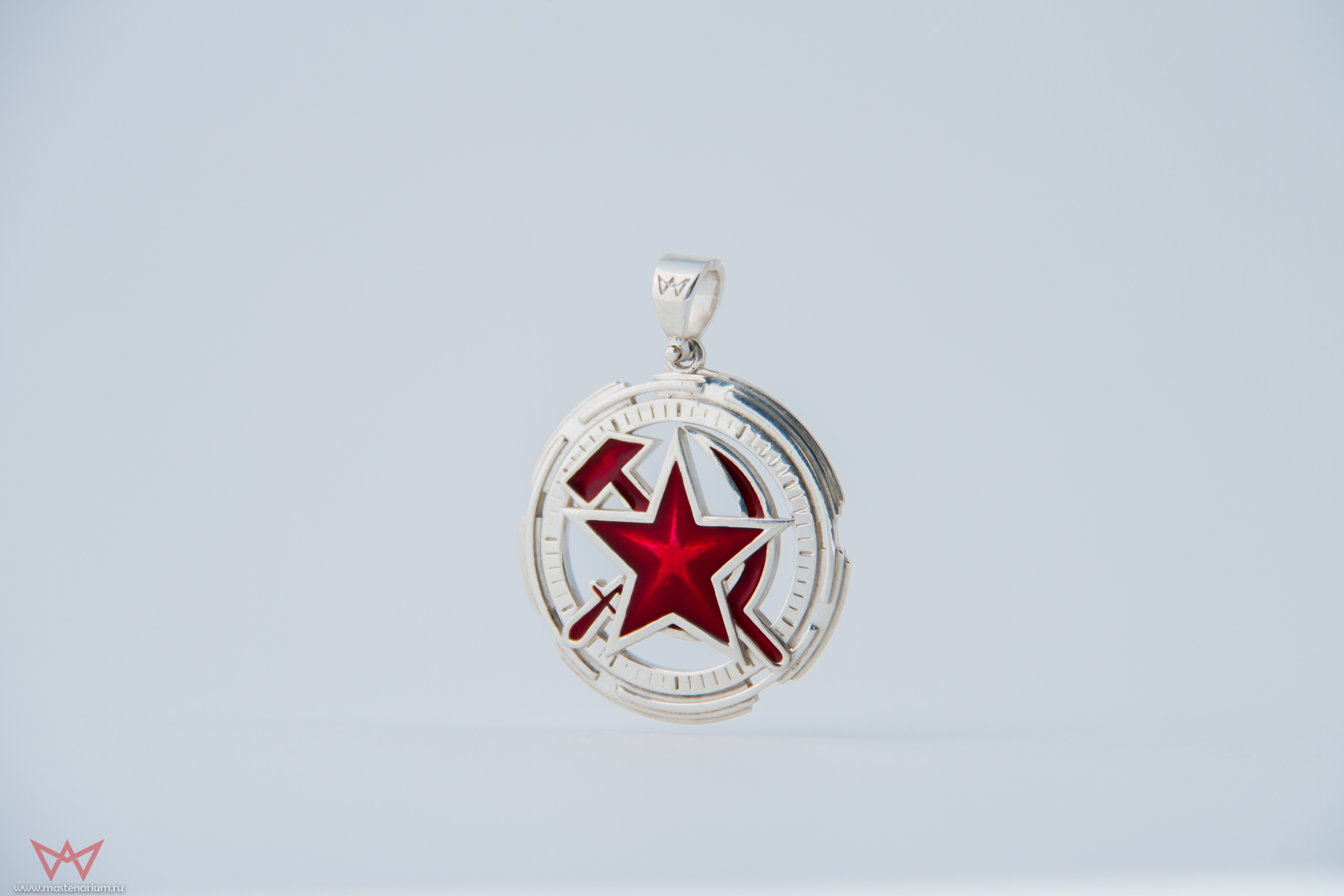 Collectibles Red Alert Necklace Soviet Union Silver 925