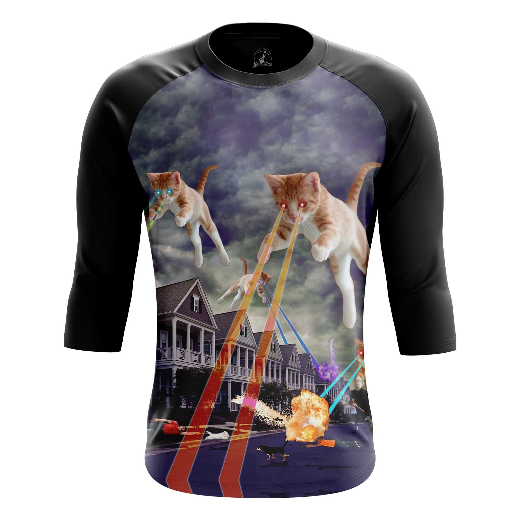 Collectibles Men'S T-Shirt Cat Invasion Fun Kittens