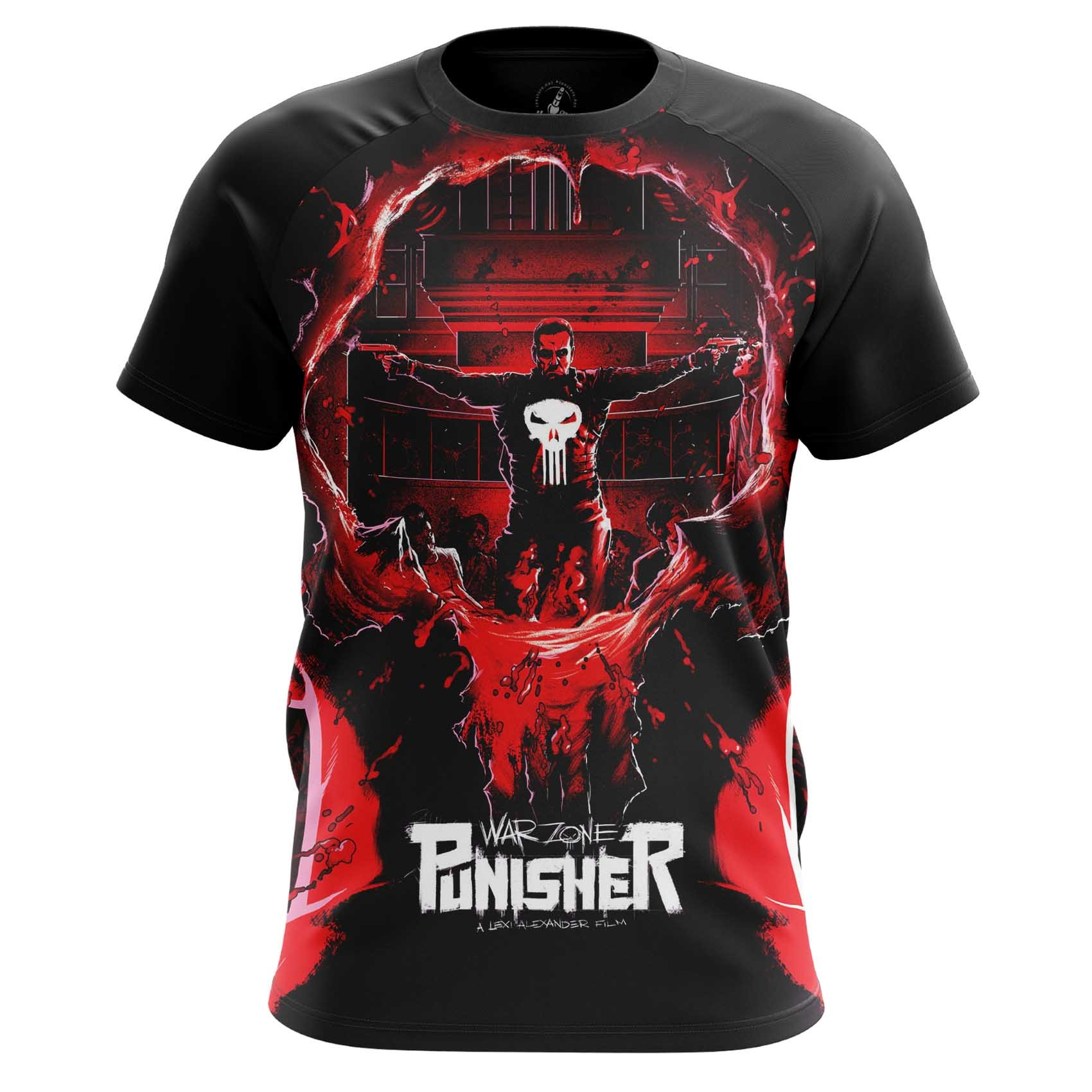 Collectibles Men'S Long Sleeve Punisher War Zone Marvel