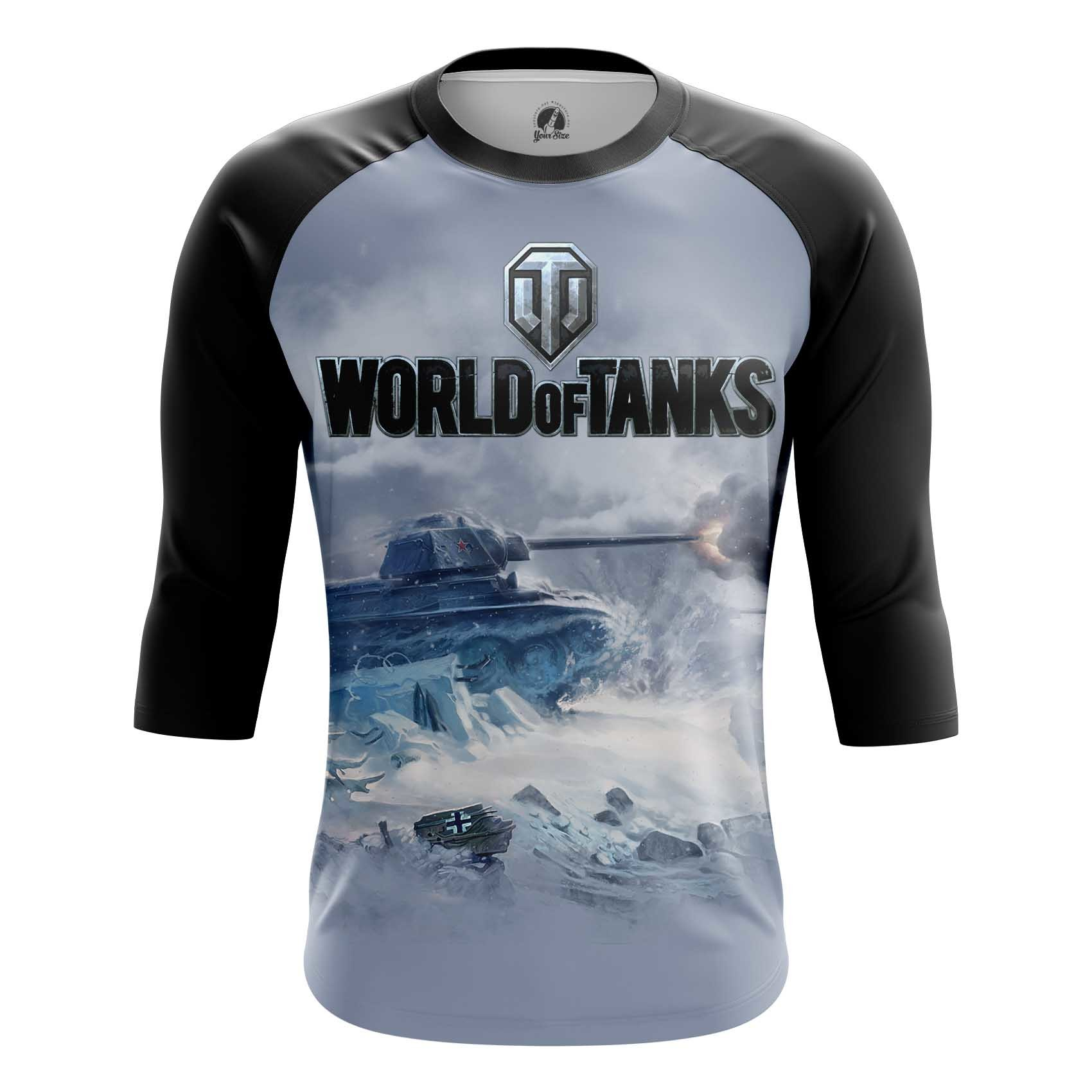 Merch Long Sleeve World Of Tanks Ice Battle Force Tank Game Arcade