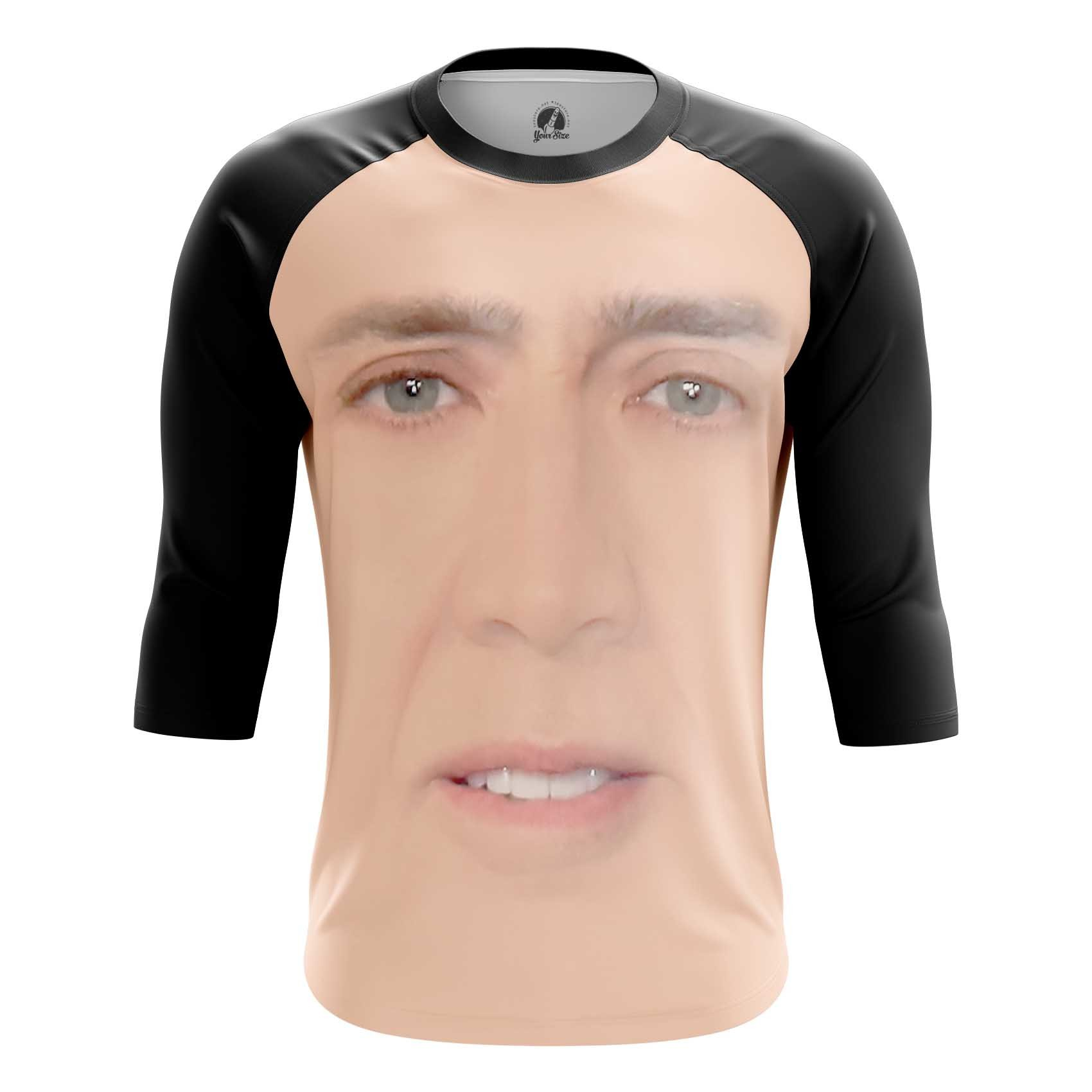 Merchandise Tank Nicolas Cage Face Art Meme Fun Vest