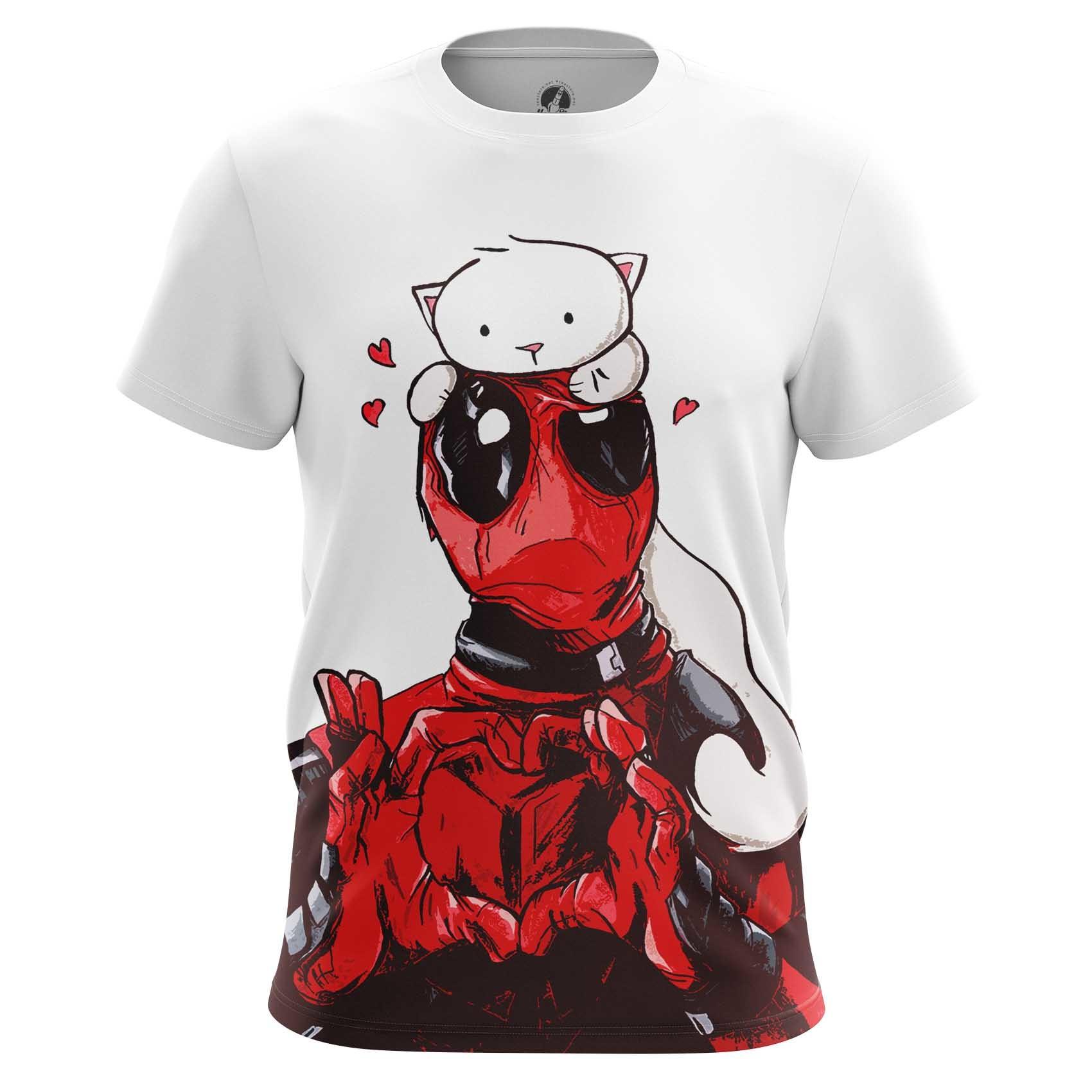 Collectibles Men'S T-Shirt Kitty Deadpool Merch