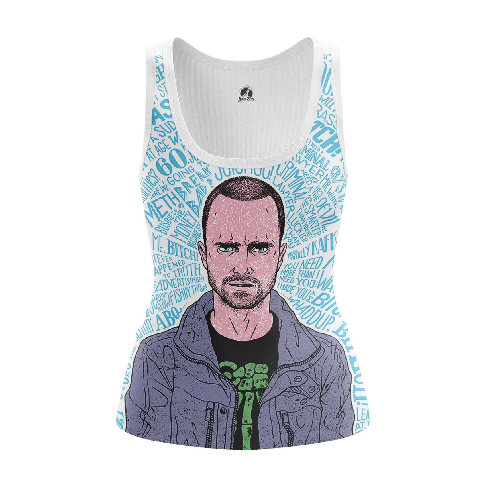 Merchandise - Women'S Tank Beatch Breaking Bad Pinkman Vest