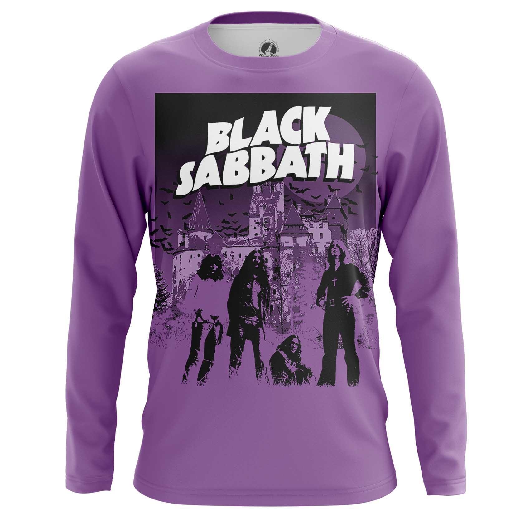 Merchandise Men'S T-Shirt Black Sabbath Fan Band