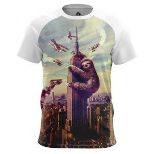 Merch Men'S T-Shirt King Sloth King Kong
