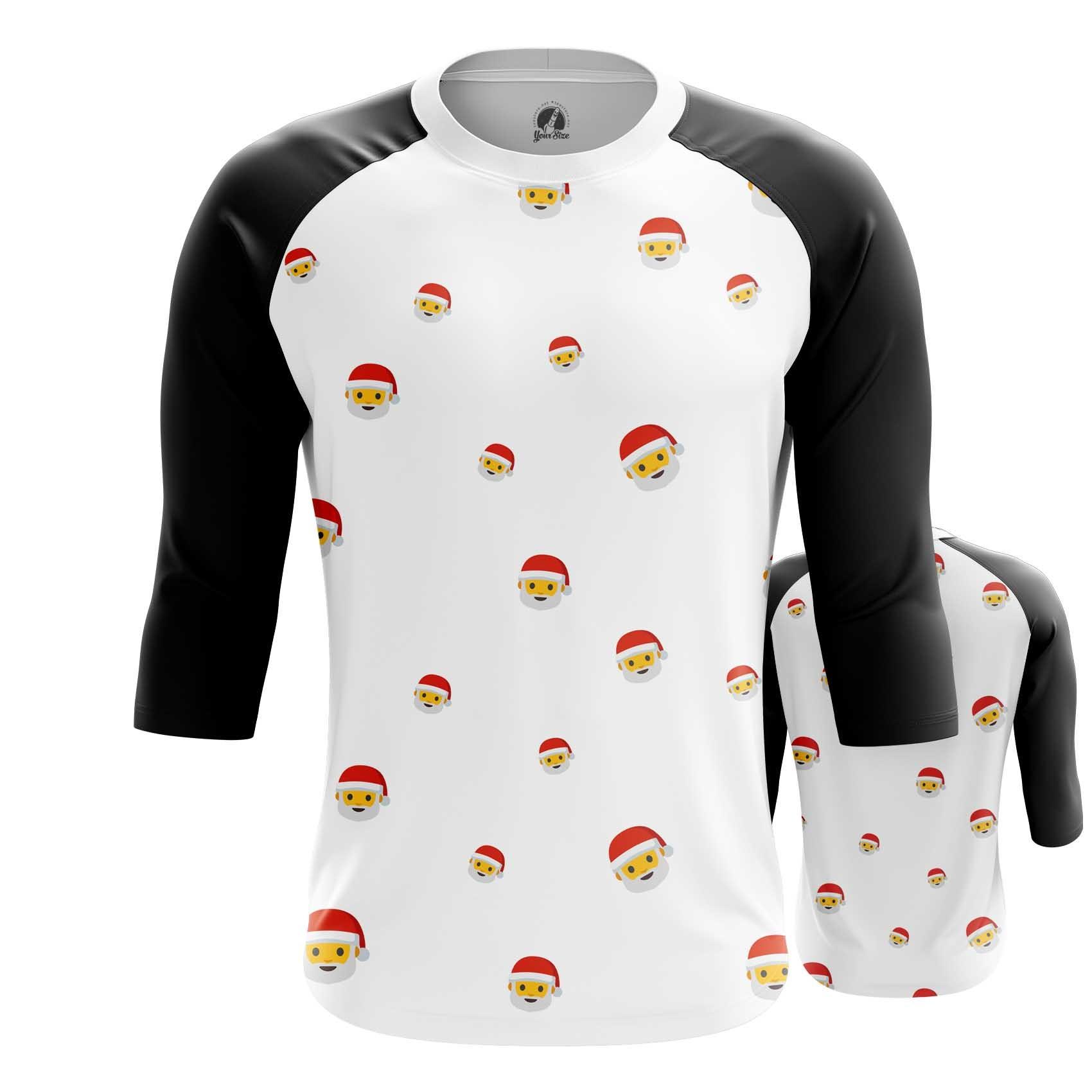Merchandise T-Shirt Emoji Santa Christmas Happy Emoji