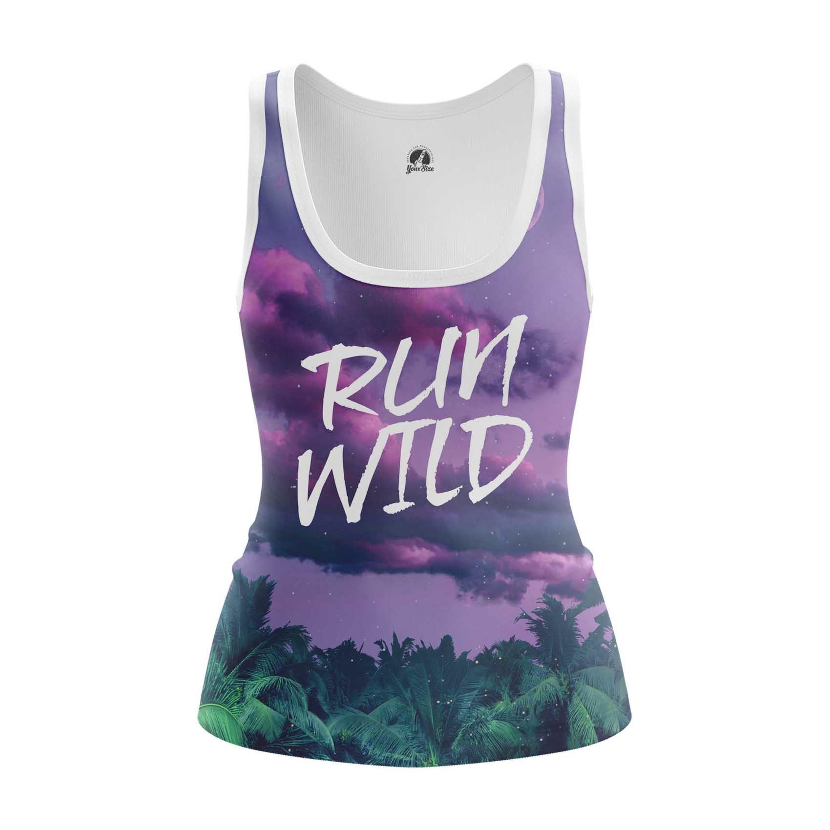 Merch Women'S Tank Run Wild Ride Art Vest