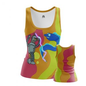 Collectibles Women'S Tank Party Time Futurama Bender Dancing Vest