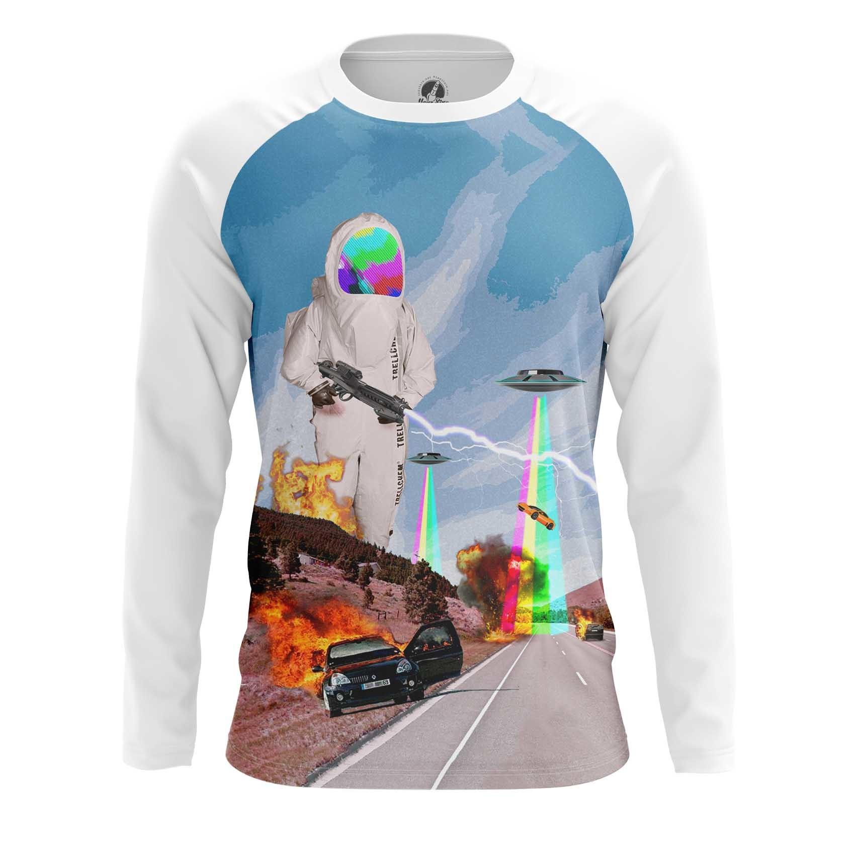 Merchandise Men'S T-Shirt Biohazard Internet Costumes Rainbow