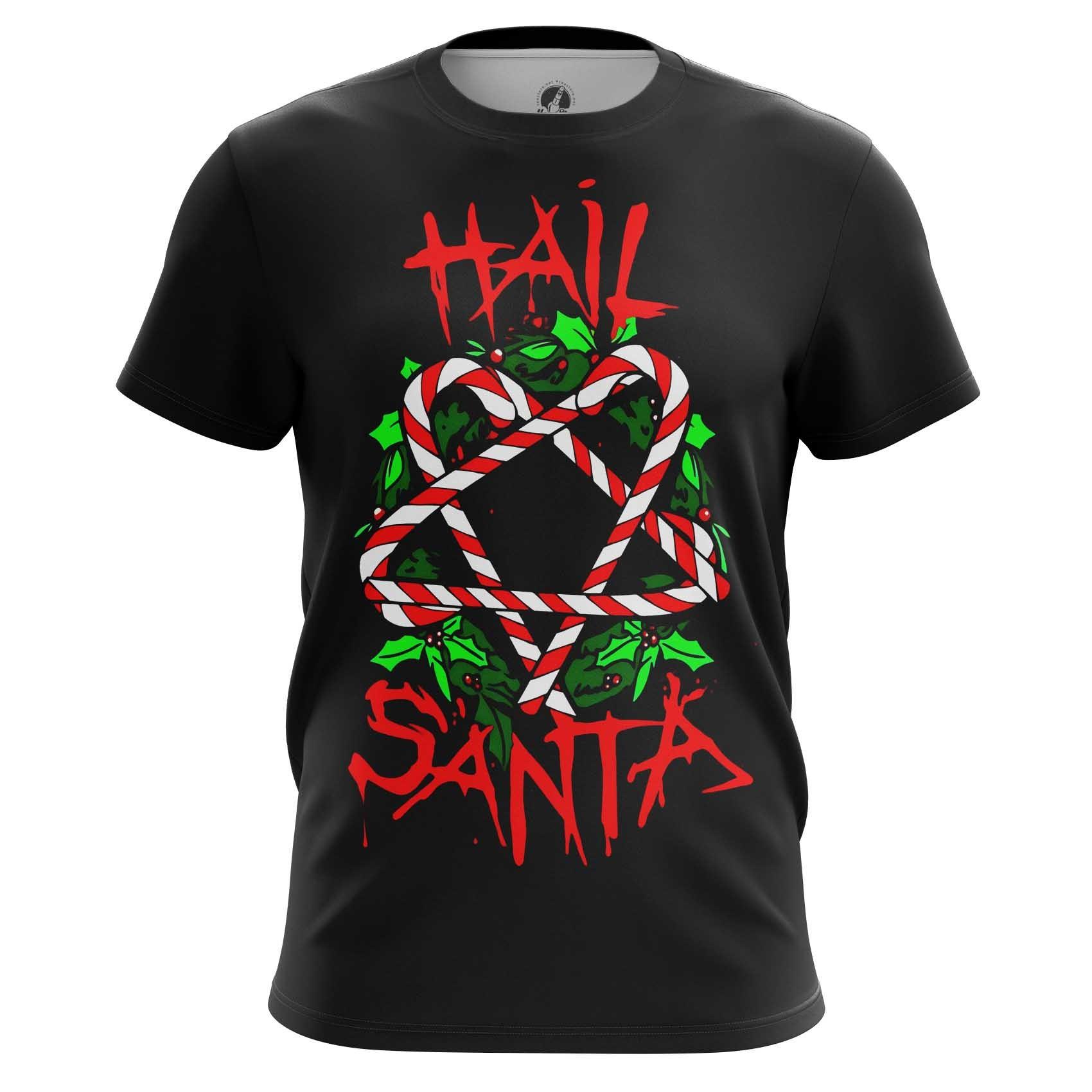 Merchandise T-Shirt Hail Santa Claus Christmas Worship