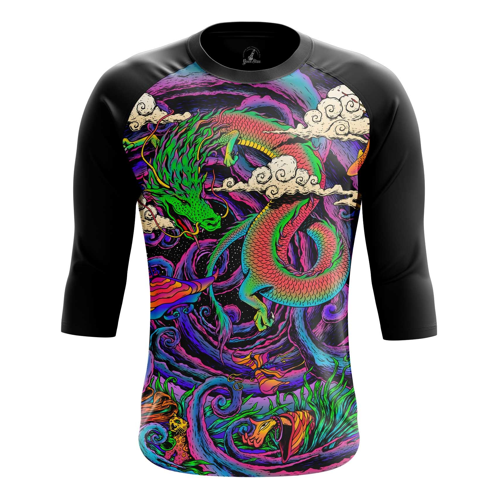 Collectibles Long Sleeve Dragon Trip Acid Art Paint