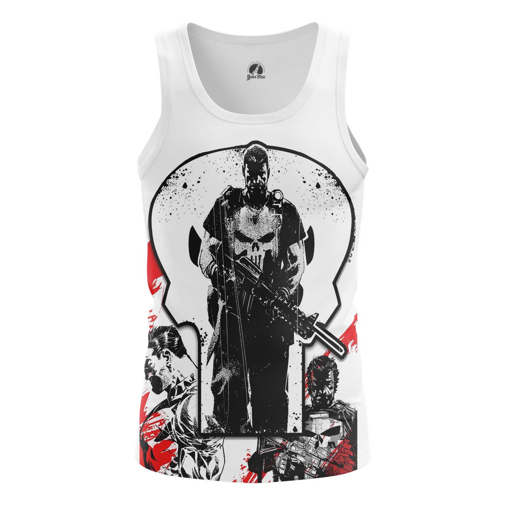 Collectibles Long Sleeve Punisher Frank Castle Inspired Clothing