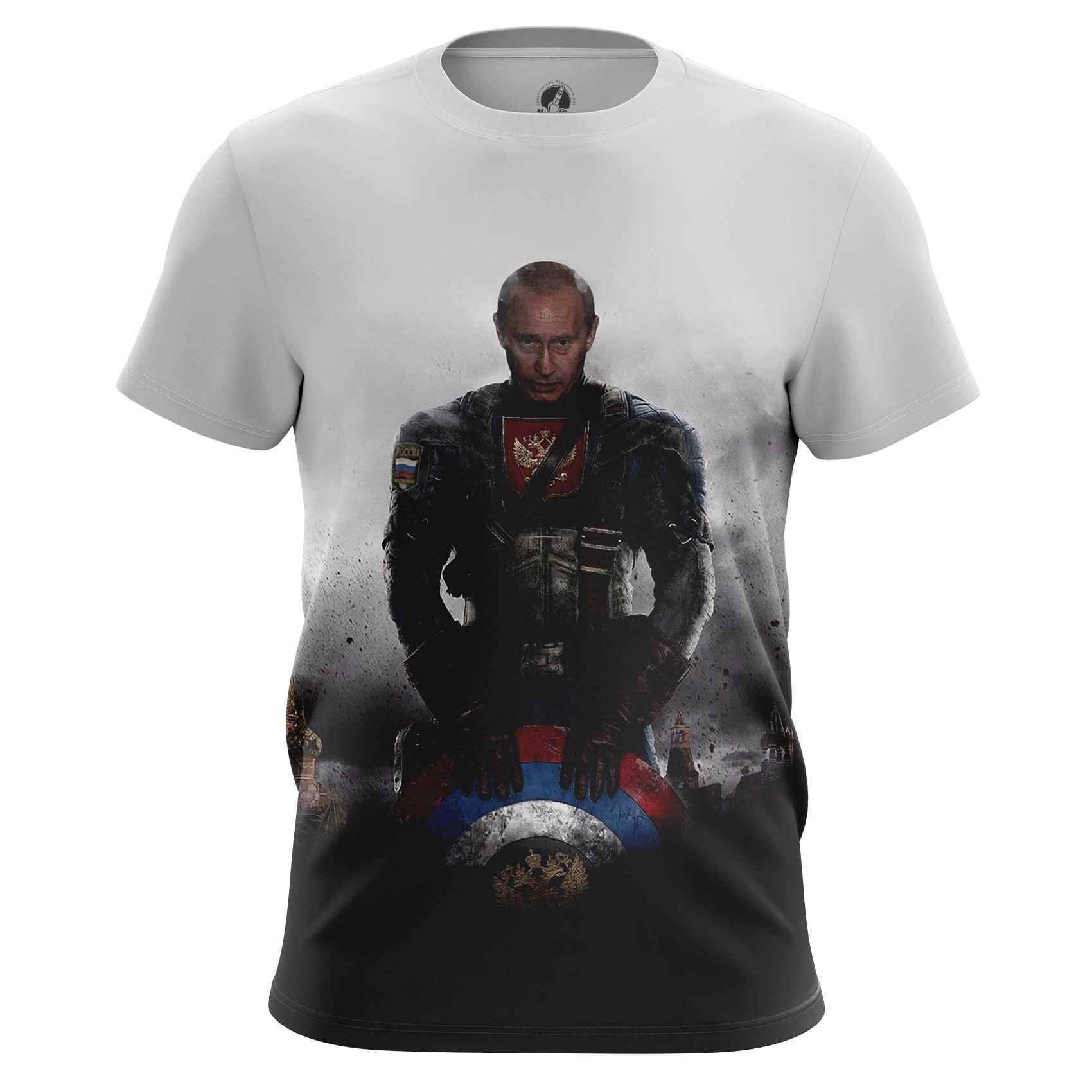 Merch Long Sleeve Vladimir Putin President Captain Russia Marvel