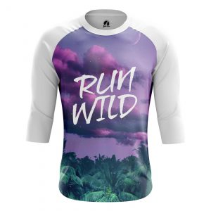 Merchandise Men'S Raglan Run Wild Ride
