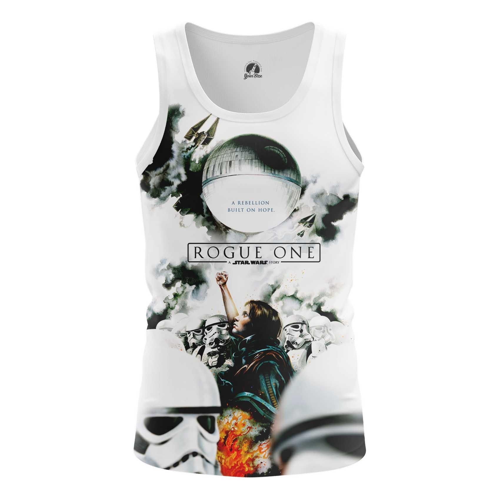 Collectibles Men'S Tank Rogue One Star Wars Vest