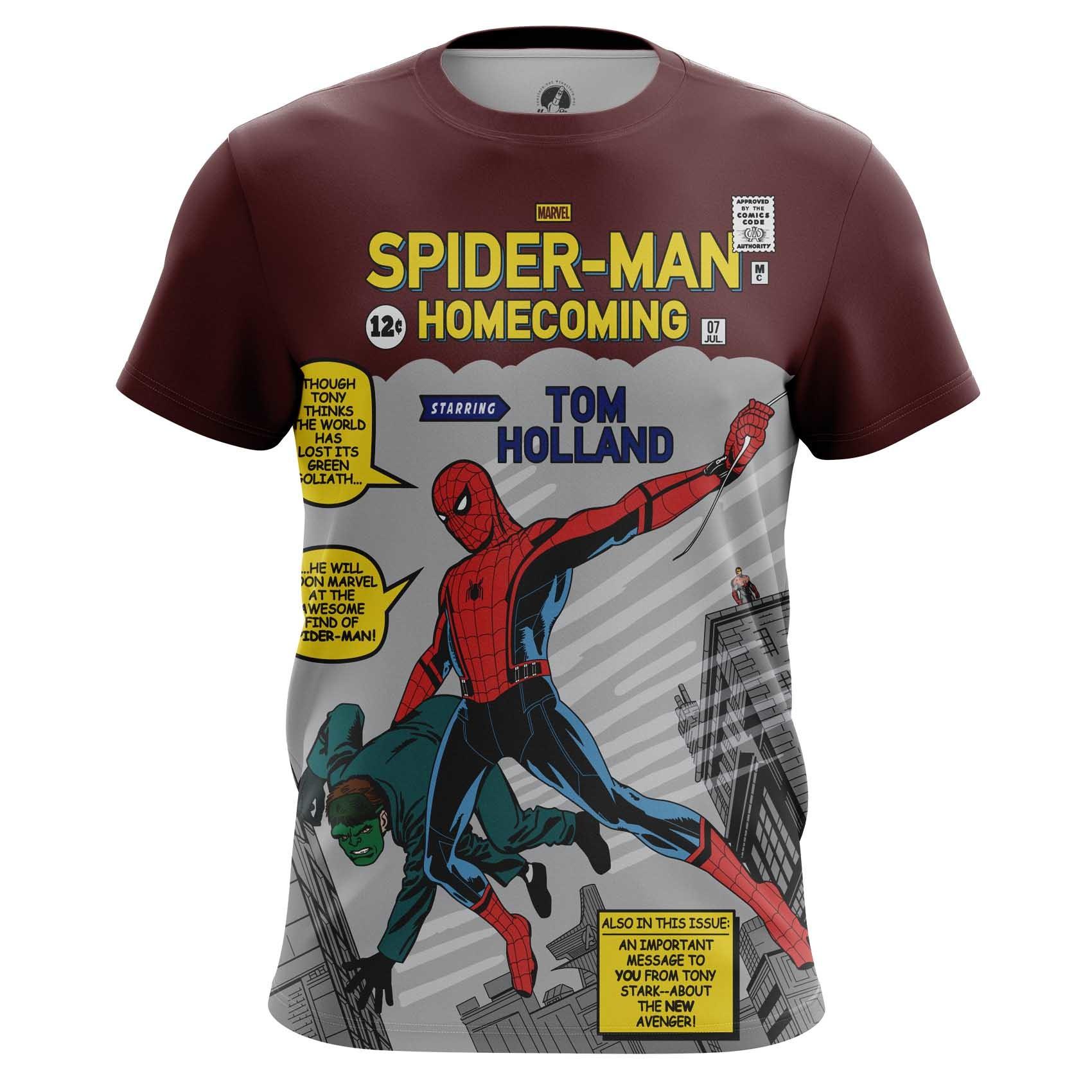 Merch Men'S Long Sleeve Amazing Homecoming Spider-Man