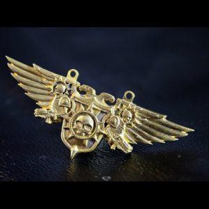 Merch Necklace Warhammer 40K Aquila Dawn Of War Handmade Pendant