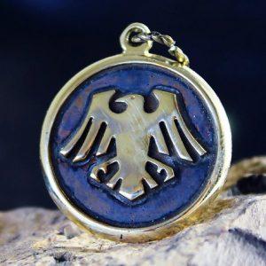 Merch Necklace Crows Space Ravens Warhammer Handmade Pendant