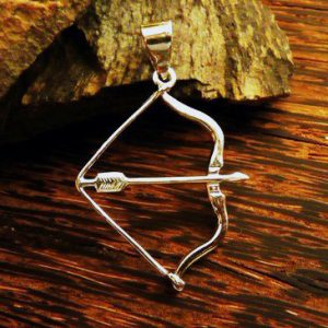 Merchandise Necklace Arrow Bow Medieval Weapon