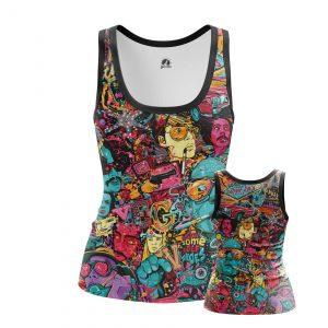 Merchandise Women'S Tank Fear And Loathing Las Vegas Vest