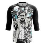 Merchandise - Men'S Raglan Pablo Escobar People