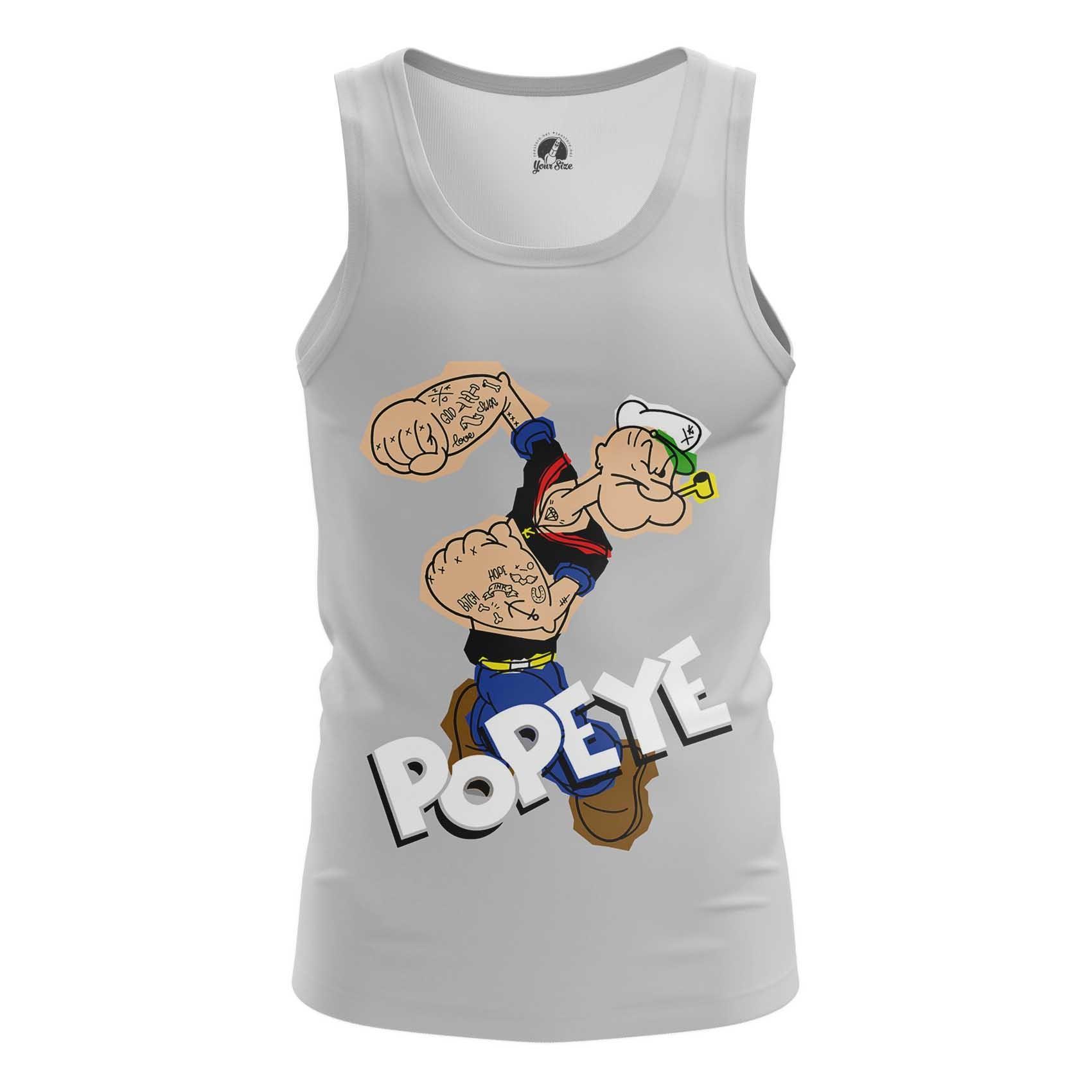 Merchandise Long Sleeve Popeye Sailor Art