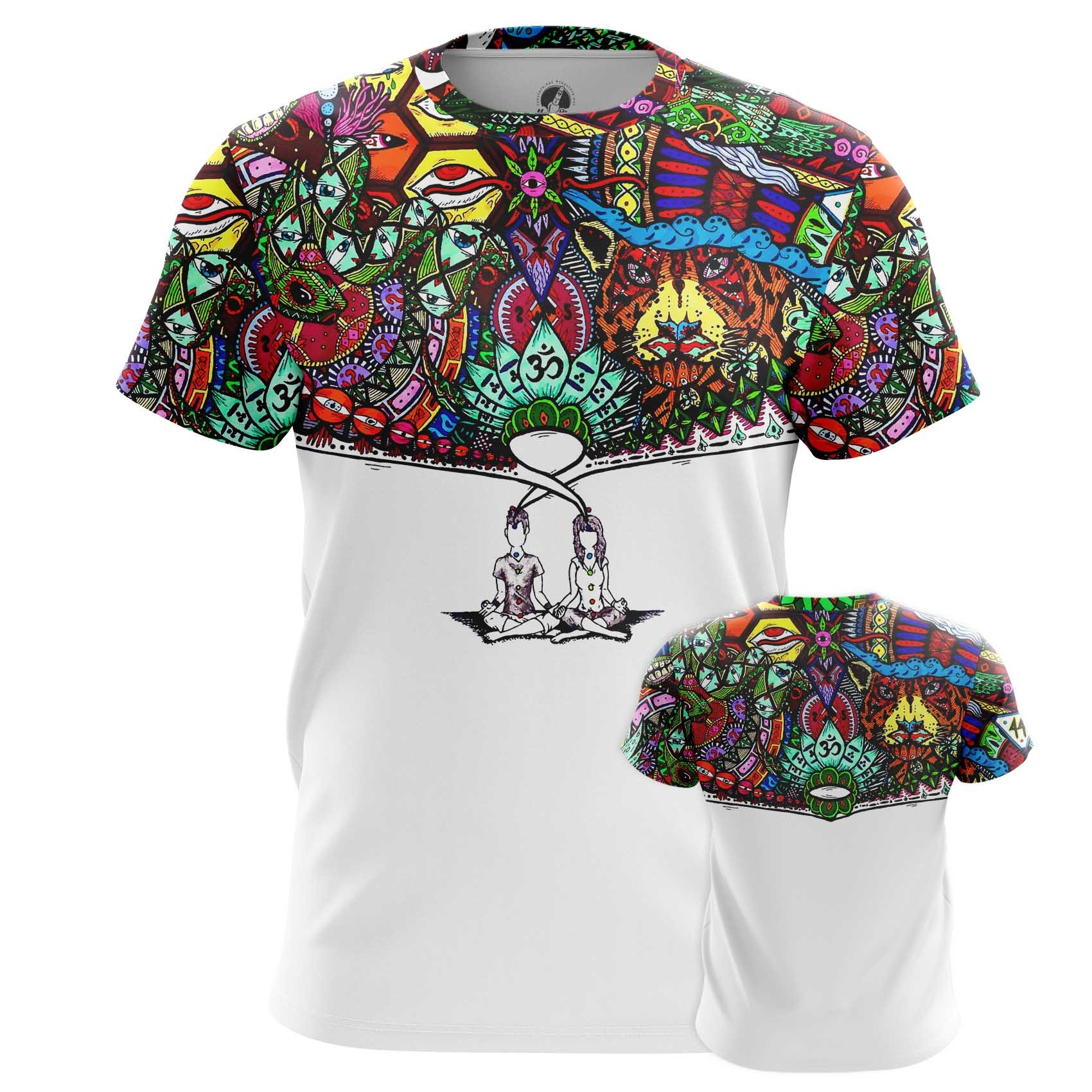 Collectibles Men'S Long Sleeve Mindfulness Yoga Inspired Shirt