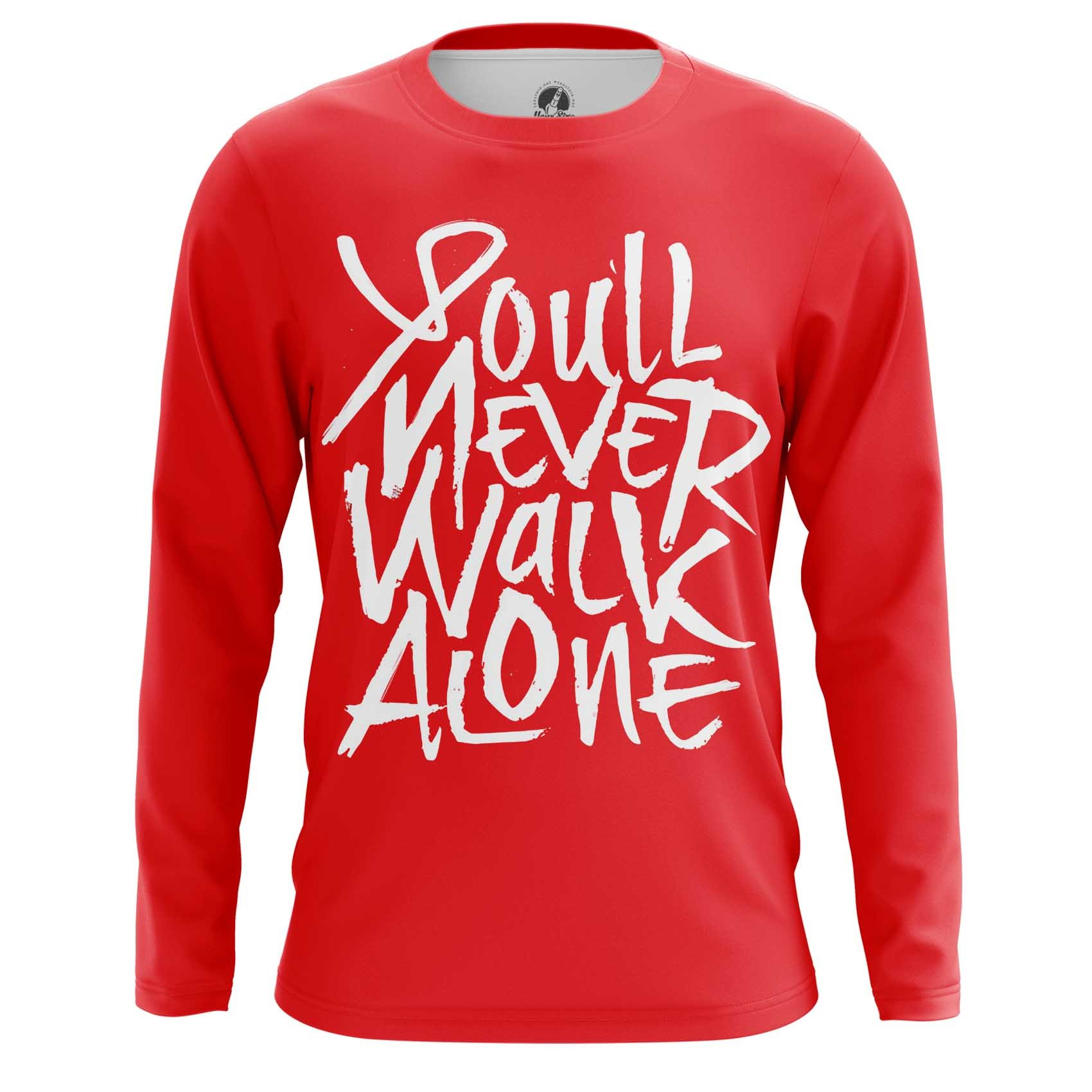 Merch Long Sleeve Liverpool - You&Rsquo;Ll Never Walk Alone