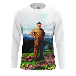 Merchandise Men'S Long Sleeve Kim Jong Il Korea Best!