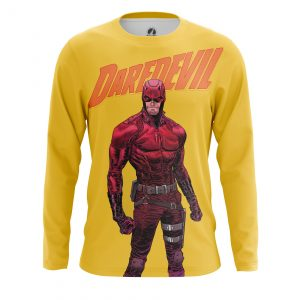 Collectibles Men'S Long Sleeve Daredevil Yellow