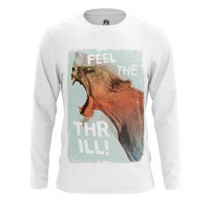 Merchandise Men'S Long Sleeve Feel Thrill Animals Lions Feel Thrill