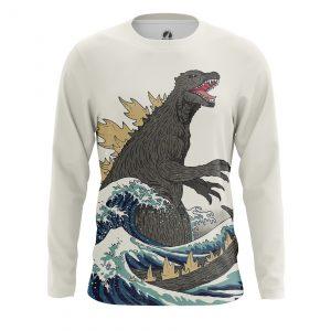 Merchandise Men'S Long Sleeve Godzilla Japan Movie