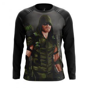 Collectibles Men'S Long Sleeve Green Arrow Black