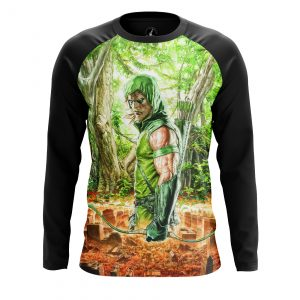 Collectibles Men'S Long Sleeve Green Arrow Two Worlds